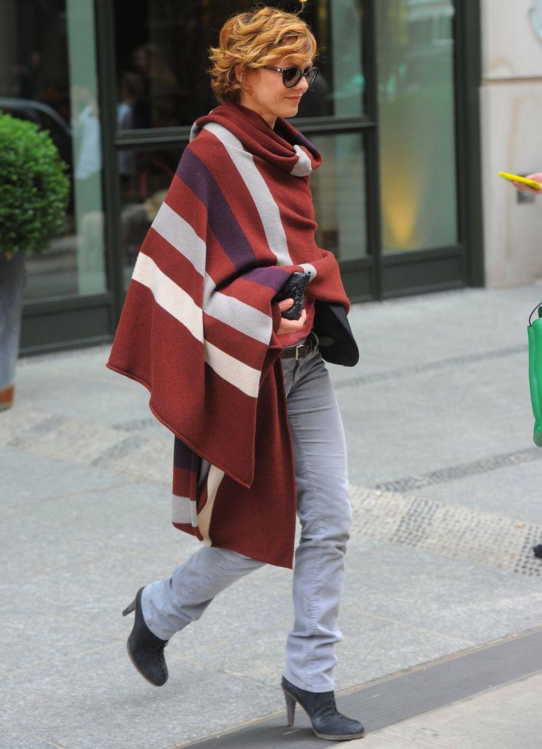 Vanessa Paradis heeft het lekker warm
