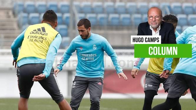 """""""Dit is een mogelijke aankondiging van de ondergang"""": Hugo Camps vreest het ergste voor """"chronische invalide"""" Eden Hazard"""