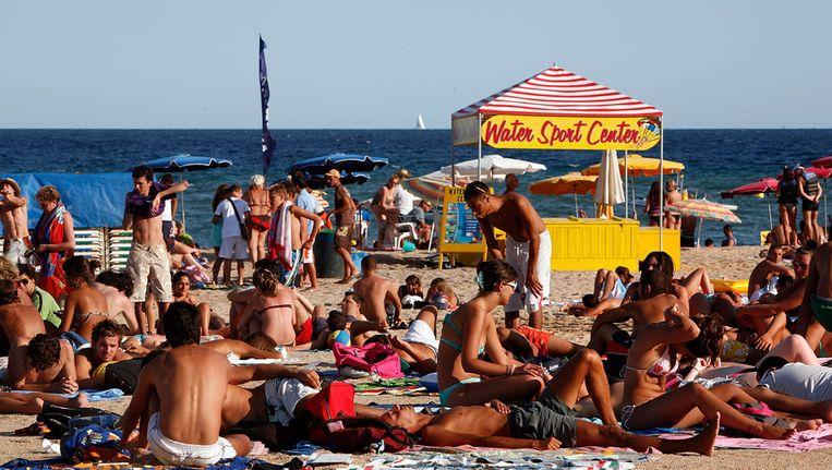 Lloret de Mar is populair bij Britse toeristen. Beeld getty