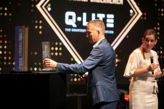 Het bedrijf Q-Lite uit Baarle-Hertog/Baarle-Nassau viel in de prijzen. Het maakt onder meer digitale snelheidsborden, maar ook tal van andere digitale ledschermen.