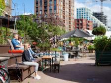 Horeca in Eindhoven en Helmond mag terrassen gaan overkappen