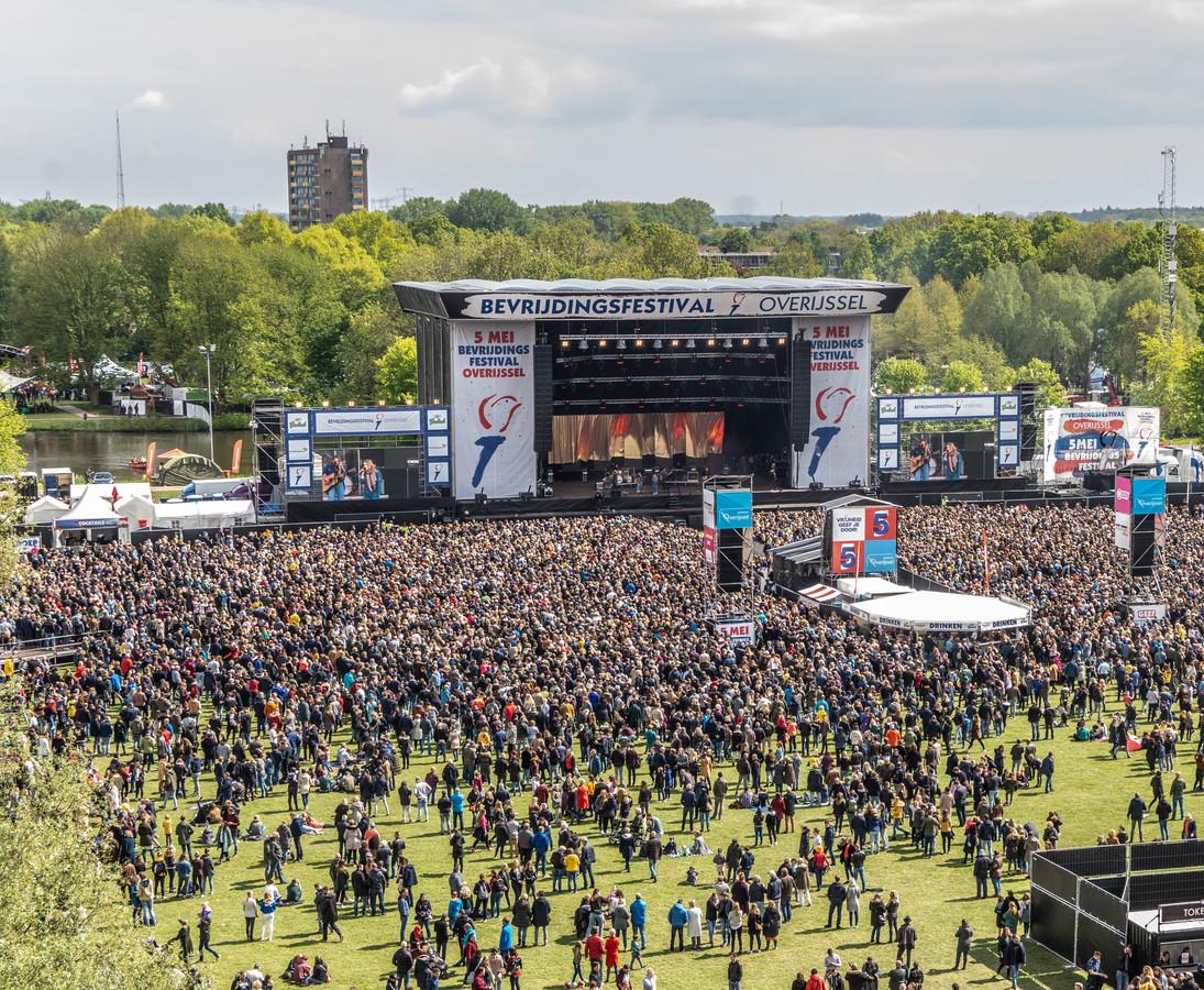 Bevrijdingsfestival Overijssel in 2019.