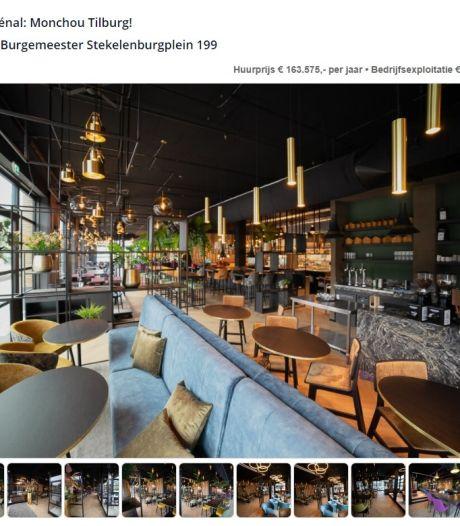Nooit getafeld, wel te koop: restaurant Monchou in Tilburg