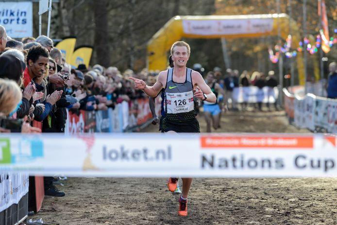 Het crossgala bij de mannen werd gewonnen door de Noor Sondre Nordstad Moen.