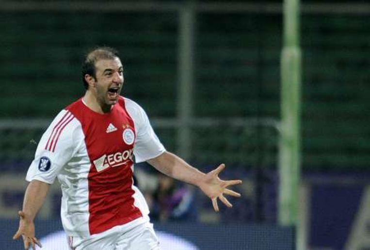 Kennedy Bakircioglü scoorde voor Ajax. Beeld UNKNOWN