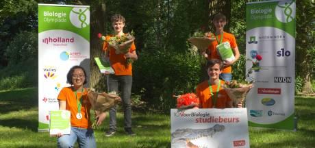 Nuenense leerlinge Samantha van Lorentz Casimir Lyceum Eindhoven naar Internationale Biologie Olympiade