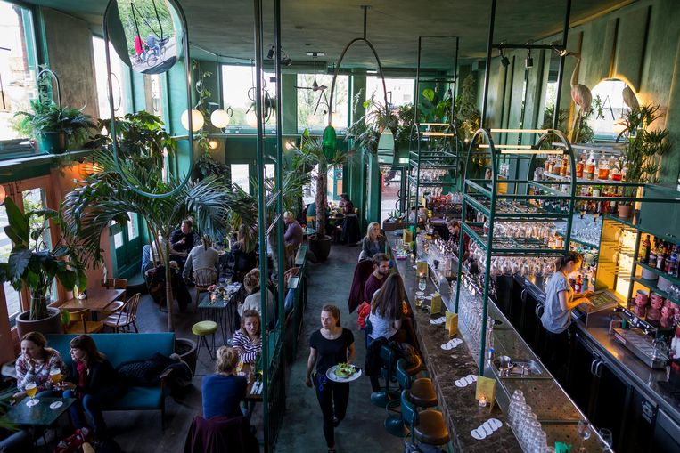 Bar Botanique: voor een tropische 1 januari Beeld Rink Hof