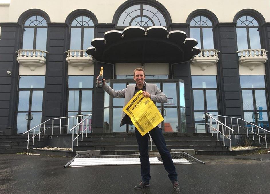 Pieter Lambert, de nieuwe eigenaar van de voormalige danstempel Sotto's in Zottegem.