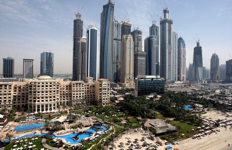 Luxueuze hotels in Dubai. Beeld EPA