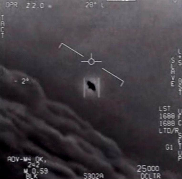 Enkele jaren geleden meldde een man bijna elke dag ufo's, maar hij stond bij de luchtmachtbasis in Kleine-Brogel Beeld AFP