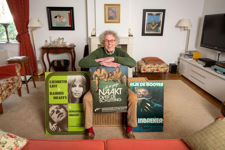 Componist Ruud Bos.  Beeld Jörgen Caris
