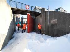 Water daalt: kadedeur in Tolkamer staat weer open