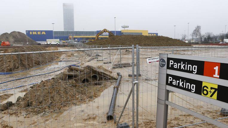De werf van The Loop in Gent. Beeld PHOTO_NEWS