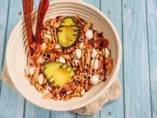 Wat Eten We Vandaag: Pastasalade met parmaham en gegrilde avocado