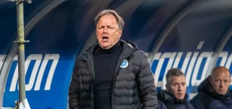 De Graafschap-trainer Snoei koestert punt bij Cambuur: 'Als we nu niet promoveren, hebben we niets in de eredivisie te zoeken'