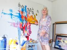 Een leven lang schilderen voor Antina Verboom (87) uit Waalre: 'Ik ben één en al verf'