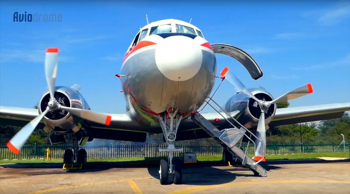 Convair in Zuid-Afrika voor Aviodrome Aviodrome ontvangt deze zomer iconisch historisch passagiersvliegtuig uit Zuid-Afrika!