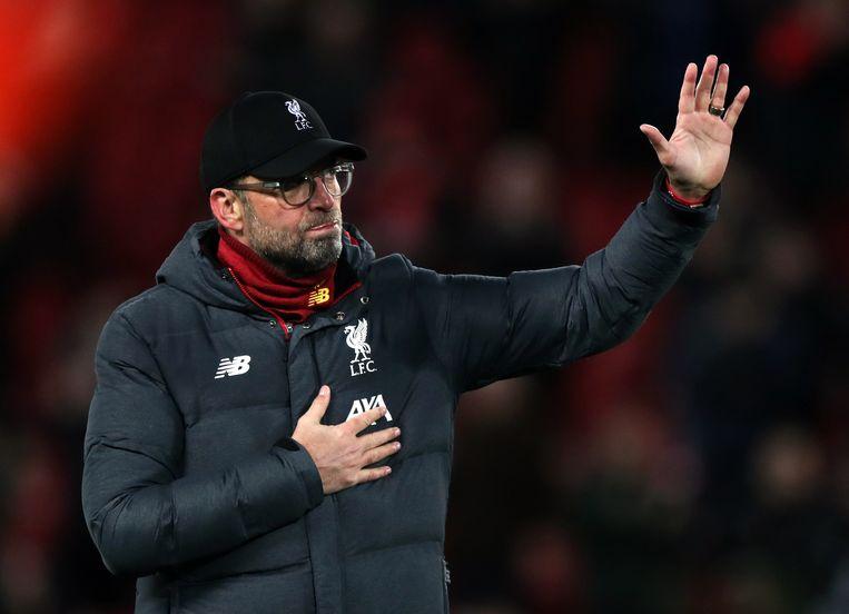 Liverpool manager Jurgen Klopp. Beeld BSR Agency