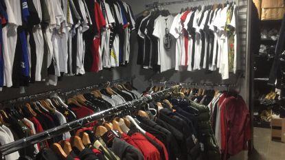 3.000 namaakproducten gevonden achter valse wand in kledingwinkel