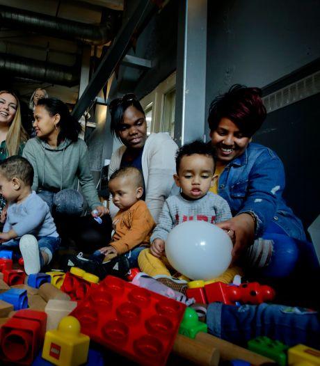 Moeders Babyhuis in het zonnetje gezet: 'We hebben het niet makkelijk gehad'
