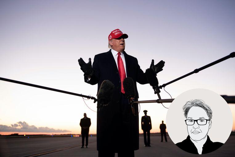 De Morgen-journalist Maarten Rabaey beantwoordt uw meest prangende vragen over de Amerikaanse presidentsverkiezingen. Beeld AFP