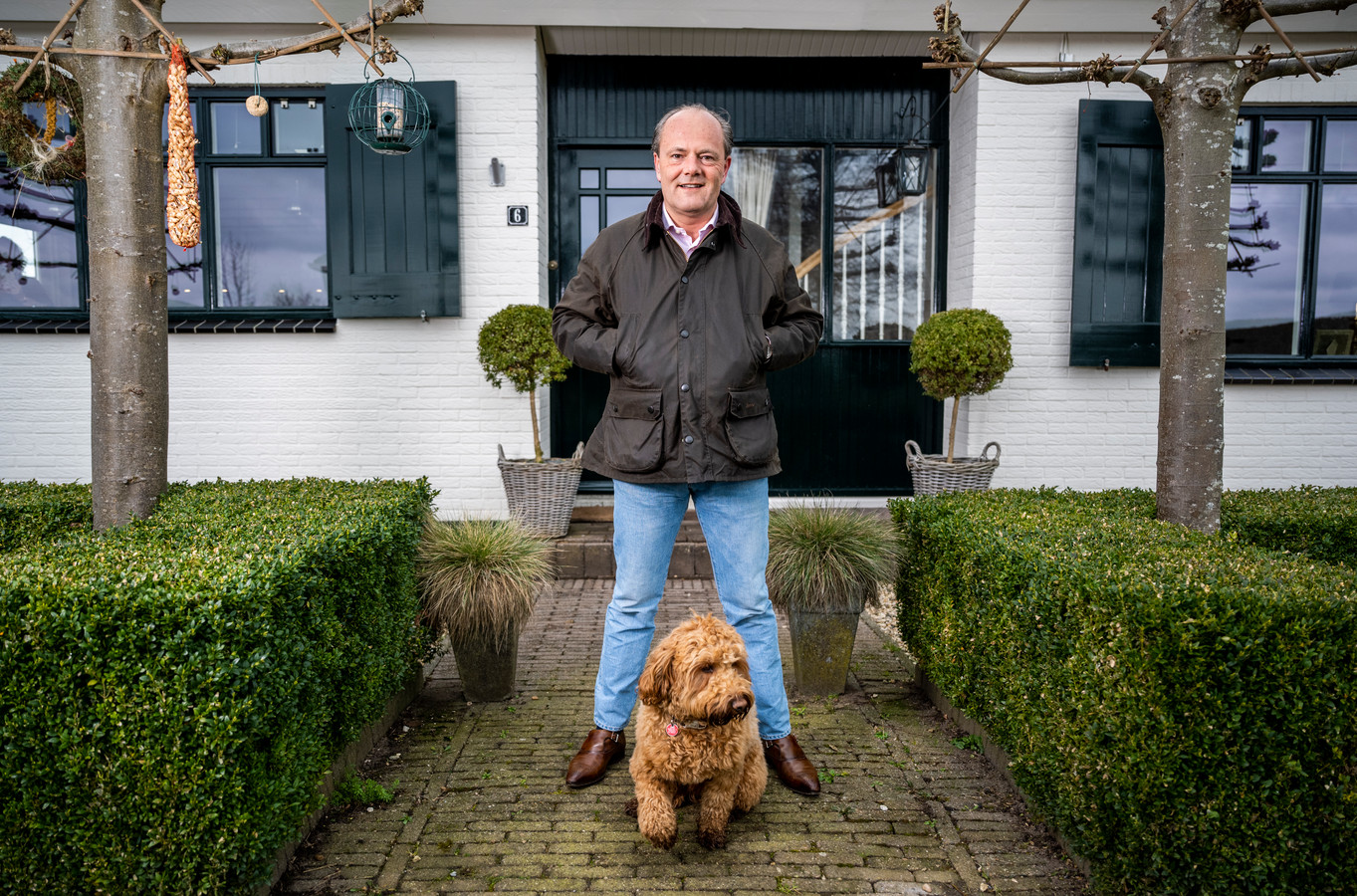 Folkert Thiadens uit Zevenhuizen.