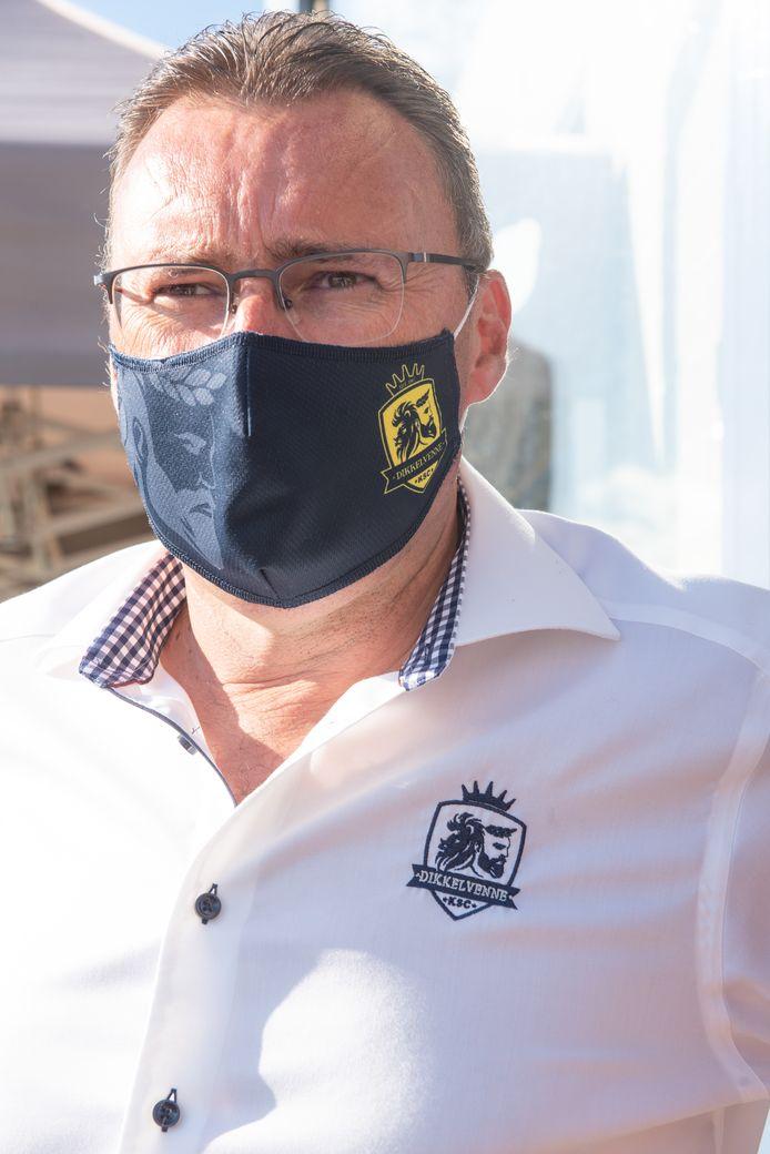 KSC Dikkelvenne-AA Gent - Geert Gevaert, voorzitter van KSC Dikkelvenne