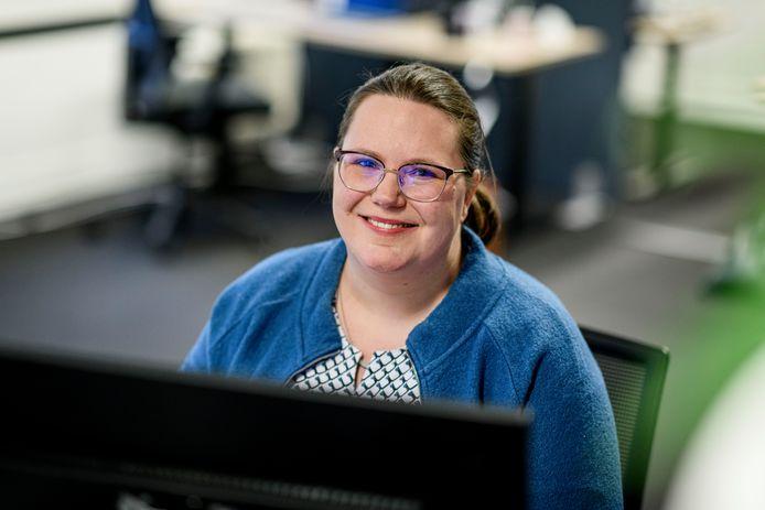 Carlijn Prins van de GGD ziet een sterke afname van het aantal hulpvragen vanuit het onderwijs