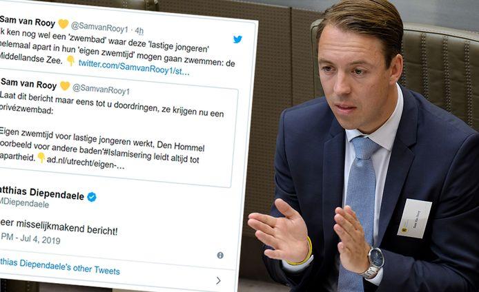 Sam Van Rooy is Vlaams parlementslid en Antwerps gemeenteraadslid.