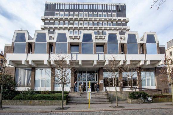 Het hof van beroep in Antwerpen.