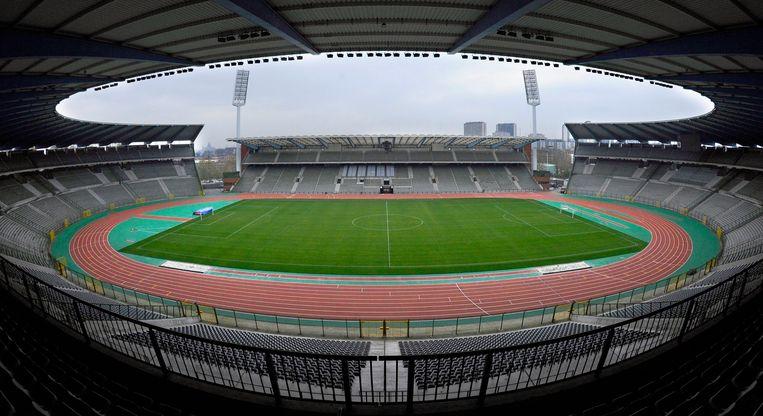 Het Koning Boudewijnstadion. Beeld BELGA