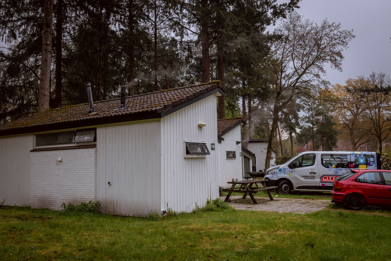 Op 't Reggehuus in Ommen wonen honderden Poolse arbeidsmigranten.