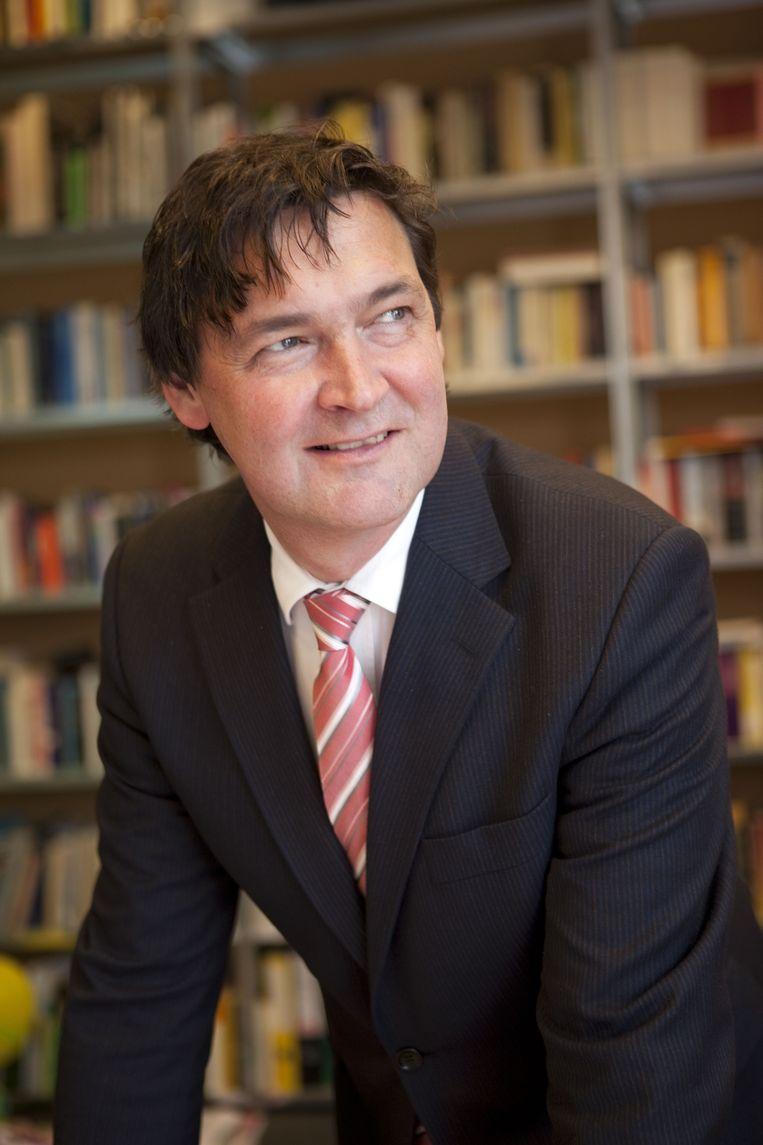 Ton Nijhuis, directeur van het Duitsland Instituut van de Universiteit van Amsterdam. Beeld .