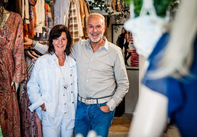 Frank en Anja Beekman van Pretty Woman Fashion in Oud-Beijerland.