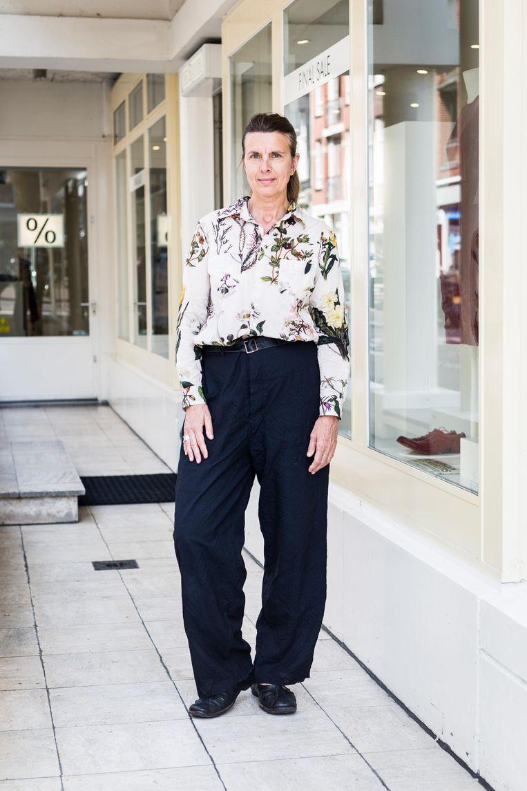 Linda Merkx, mede-eigenaar Van Ravenstein stopt wegens veranderde tijden in de mode. Beeld Tammy van Nerum