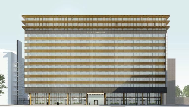 Impressie van het vernieuwde Europahuis Beeld City Pads