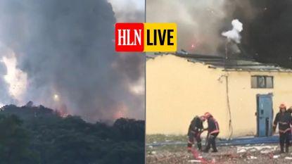 Grote ontploffing in Turks vuurwerkbedrijf
