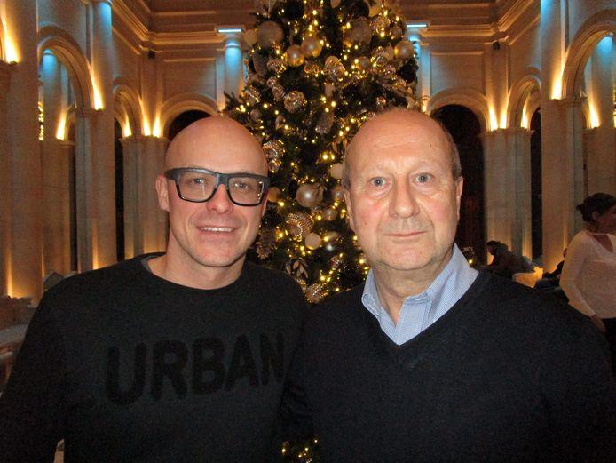 Onze reporter met Philippe Geubels in New York.