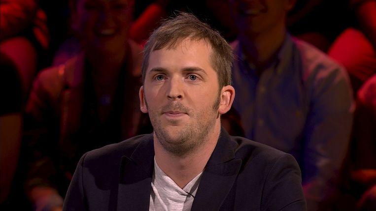 Jonas Geirnaert in 'De slimste mens ter wereld'. Beeld RV Beeldfabriek