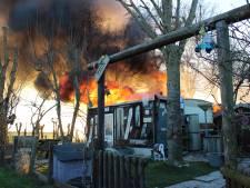 Oorzaak brand in chalet duidelijk; het ging mis bij aansteken kachel
