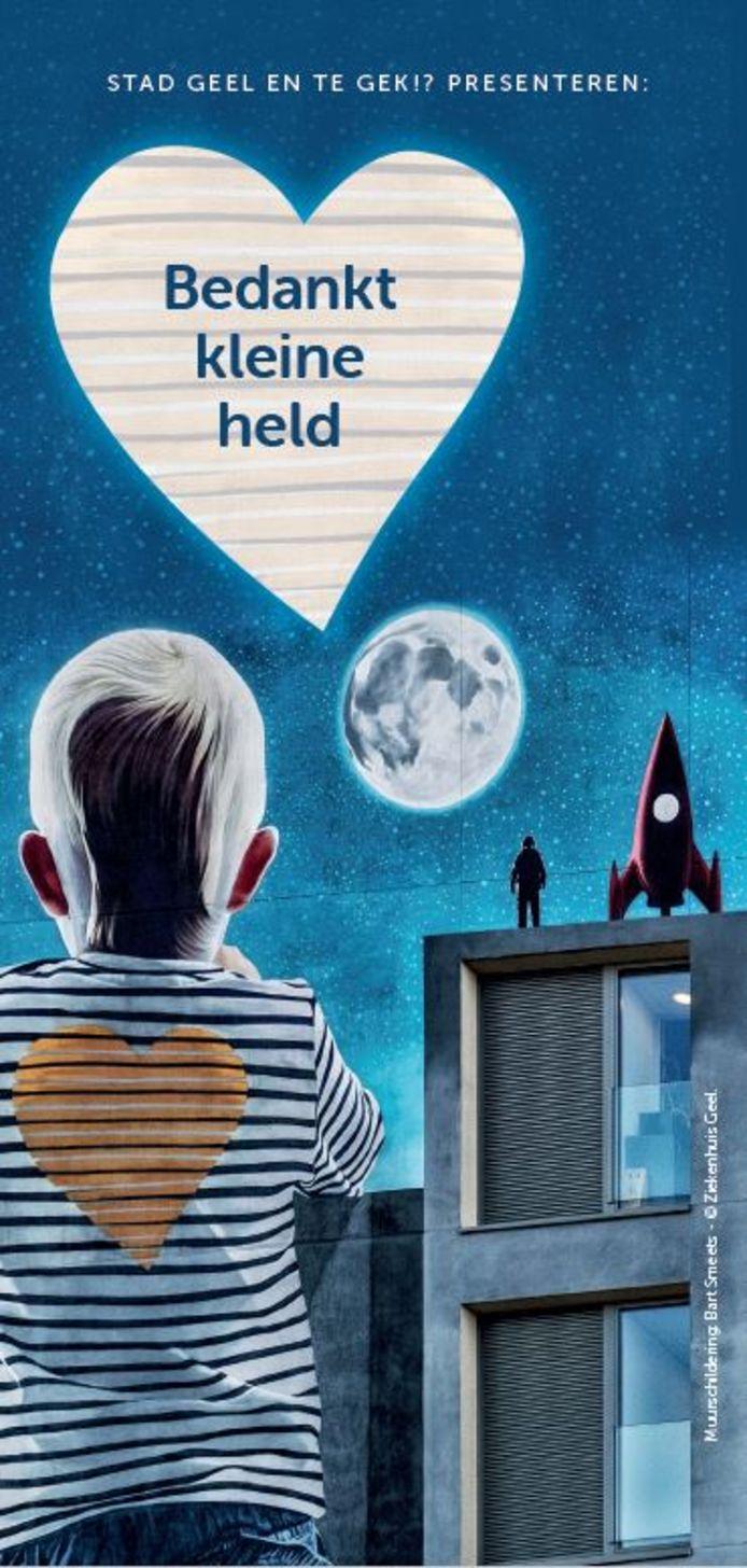 Op www.kleine-helden.be kan iedereen zijn of haar eigen Kleine Held bedanken.