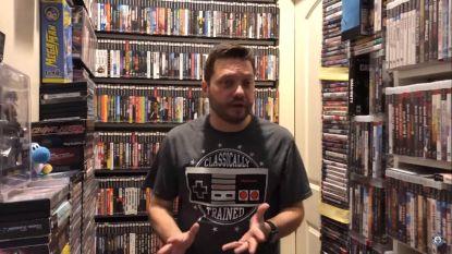 Deze gamer heeft de grootste verzameling videospellen ter wereld