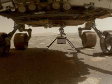 Le mini-hélicoptère Ingenuity a touché la surface de Mars