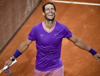 Nadal verslaat Djokovic en wint voor de tiende keer het ATP-toernooi van Rome