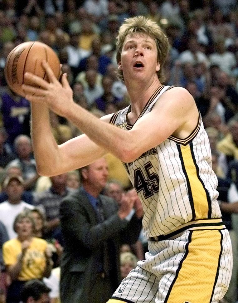 Rik Smits. Beeld AFP/Getty Images