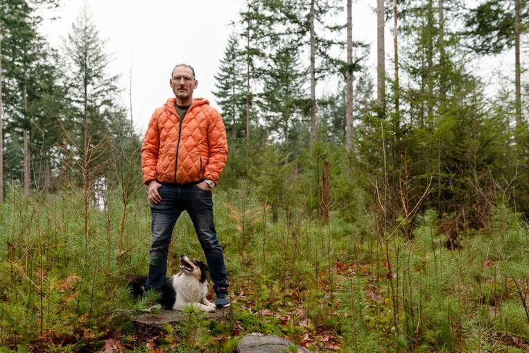 'Het bos heeft een soort natuurlijke elegantie waar ik altijd naar op zoek ben.' Beeld Jordi Huisman