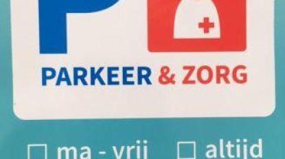 'Parkeer+zorg'-sticker moet zoektocht naar parkeerplaats voor zorgverleners vergemakkelijken