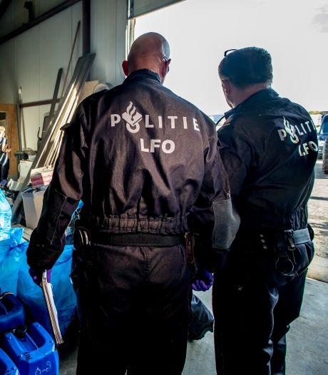 Flink meer drugslabs opgerold: sterke stijging in Oost-Nederland