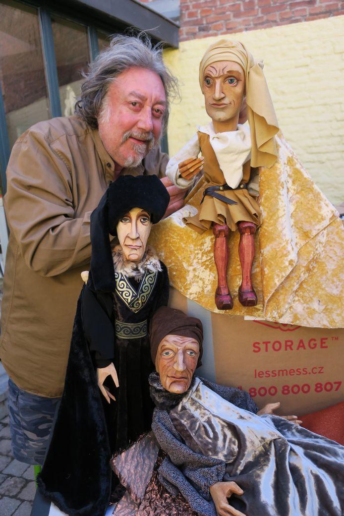 De Van Eyck-poppen van Luk De Bruyker.