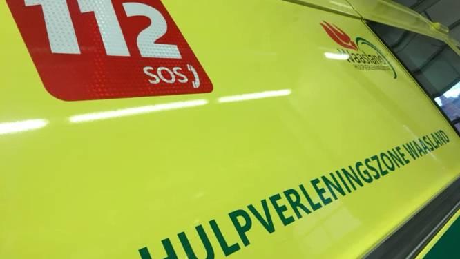 Chauffeur lichtgewond bij botsing op Melseledijk